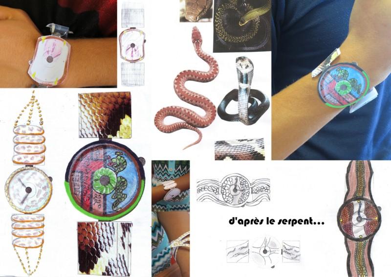 Relativ Création d'une montre à partir d'une planche de tendance – L.P.  WN62